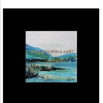 419 Image acrylique sur fond noir 20 x 20 cm