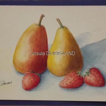 N° 179 Poires et fraises
