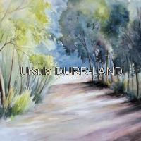 001 Aquarelle  Promenade en Forêt