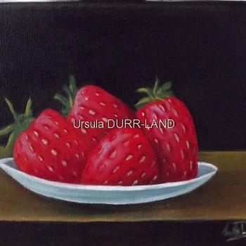 431 Assiette de fraises