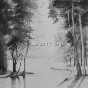 498 Mystère 1 Dessin sur toile 50 x 50cm